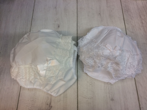 Cotton Knickers with LaceFrill